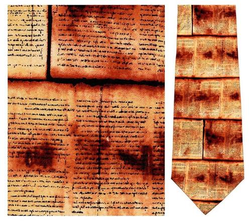 Dead Sea Scrolls Necktie - Museum Store Company Photo