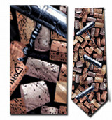 Old Corks & Corkscrews Necktie - Museum Store Company Photo