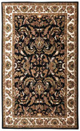 Isphan - Black / Beige Rug : Persian Tufted Collection - Photo Museum Store Company