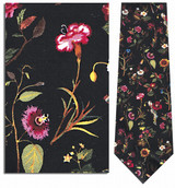 Mrs. Delany's Flowers Necktie - Museum Store Company Photo