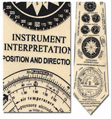 Instruments of Flight Necktie - Museum Store Company Photo