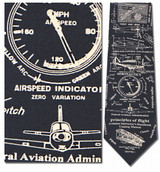 Principles of Flight Necktie - Museum Store Company Photo