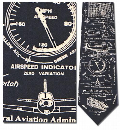 Principles of Flight Necktie - Museum Store Company Photo