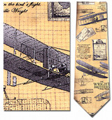 The Wright Brothers Necktie - Museum Store Company Photo