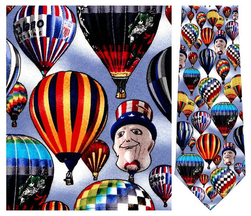 Balloons Over the World Necktie - Museum Store Company Photo