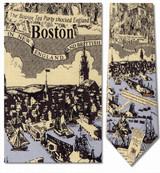 Boston - British In Boston, 1776 Necktie - Museum Store Company Photo