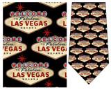 Welcome to Las Vegas Casino Gambling Necktie - Museum Store Company Photo