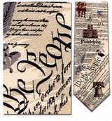 Philadelphia Map - We The People Necktie - Museum Store Company Photo
