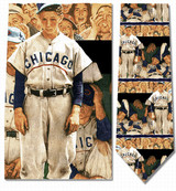 Norman Rockwell - Dugout Necktie - Museum Store Company Photo