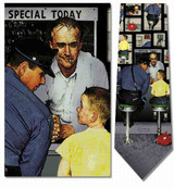 Norman Rockwell - Runaway Necktie - Museum Store Company Photo