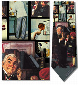 Norman Rockwell - Family doctor Necktie - Museum Store Company Photo