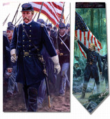 Mort Kunstler - Chamberlains Charge Necktie - Museum Store Company Photo