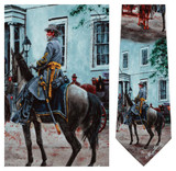 Confederate White House - Mort Kunstler Necktie - Museum Store Company Photo