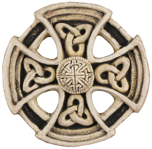 St. Columba Wheel Cross - Cornwall, England - Museum Store Company Photo
