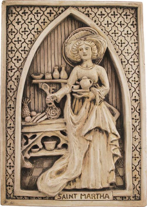 Saint Martha Plaque - Museum Store Company Photo