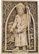 Saint Patrick Plaque - Museum Store Company Photo