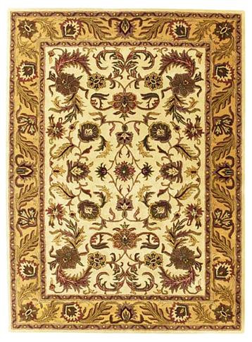 Kashan - Beige / Tan Rug : Persian Tufted Collection - Photo Museum Store Company