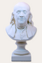 Benjamin Franklin Bust - Classic White - Museum Store Company Photo