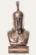 Greek Warrior Bust - Hoplite Leonidas - Metallic Bronze Finish  - Museum Store Company Photo