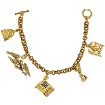 American Charm Bracelet - Museum Shop Collection - Museum Company Photo