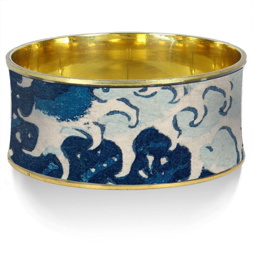 Hokusai Great Wave Bangle - Museum Shop Collection - Museum Company Photo