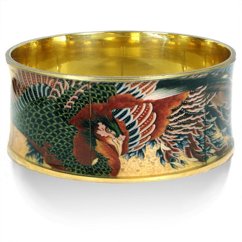 Hokusai Phoenix Bangle - Museum Shop Collection - Museum Company Photo