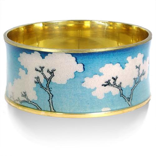 Hokusai White Trees Bangle - Museum Shop Collection - Museum Company Photo