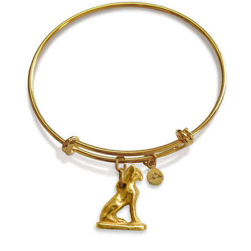 Bastet Charm Flexible Bracelet - Museum Shop Collection - Museum Company Photo