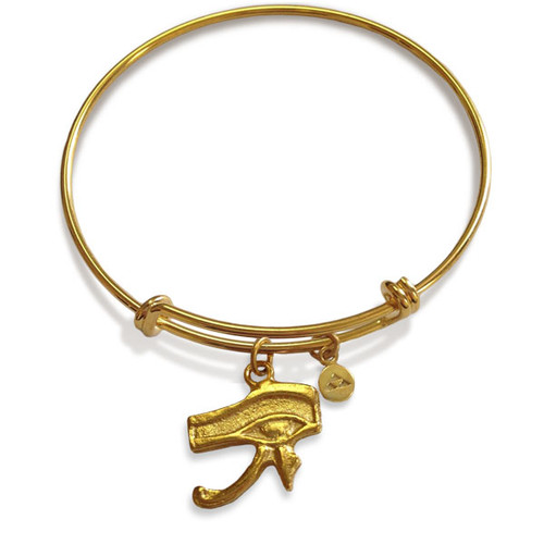 Eye of Horus Flexible Bracelet - Museum Shop Collection - Museum Company Photo