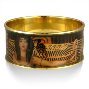 Klimt Cleopatra Bangle - Museum Shop Collection - Museum Company Photo