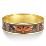 Klimt Egyptian Condor bangle - Museum Shop Collection - Museum Company Photo