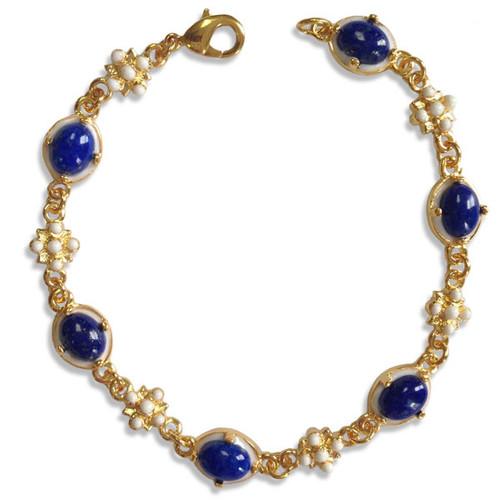 Elizabethan Lapis Lazuli Bracelet - Museum Shop Collection - Museum Company Photo
