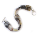 Square Agate Bracelet - Museum Shop Collection - Museum Company Photo