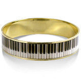 Piano Key Bangle Bracelet - Museum Shop Collection - Museum Company Photo