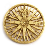 Compass Rose Brooch/Pendant - Museum Shop Collection - Museum Company Photo