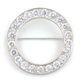 Tudor Place Circle Brooch s/s - Museum Shop Collection - Museum Company Photo