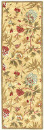Transitional - Gold / Gold Rug : Persian Tufted Collection - Photo Museum Store Company