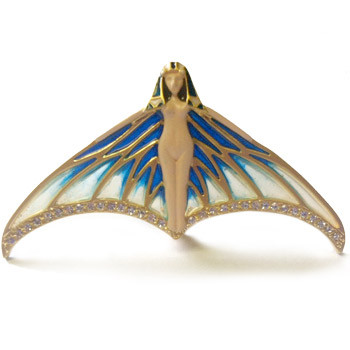 Winged Nymph Pin Pendant - Museum Shop Collection - Museum Company Photo