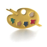 Painter's Palette Brooch - Museum Shop Collection - Museum Company Photo