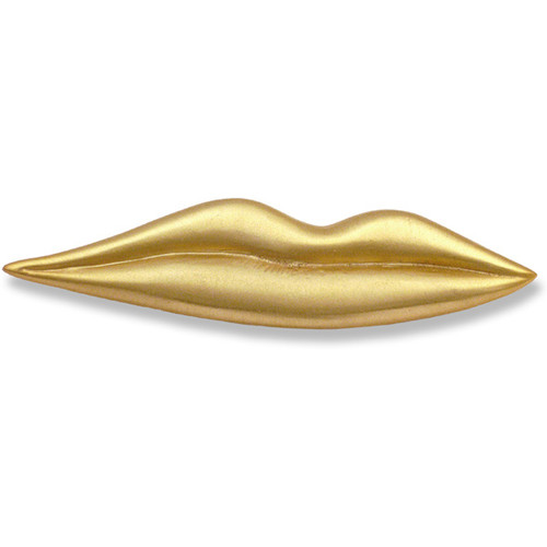 Gold Lips Brooch - Museum Shop Collection - Museum Company Photo