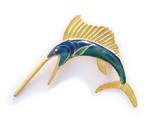 Sailfish Brooch - Museum Shop Collection - Museum Company Photo