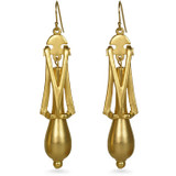 Lucy's Tear Drop Earrings - Museum Shop Collection - Museum Company Photo