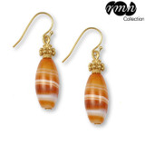 Banded Agate Earrings - Museum Shop Collection - Museum Company Photo