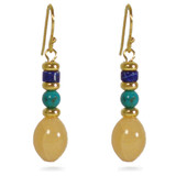 Fire Agate Earrings - Museum Shop Collection - Museum Company Photo