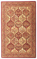 Baktarri - Red / Beige Rug : Persian Tufted Collection - Photo Museum Store Company