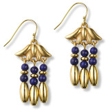 River Lotus Earrings - Museum Shop Collection - Museum Company Photo