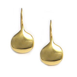 Egyptian Shell Earrings, gold finish - Museum Shop Collection - Museum Company Photo