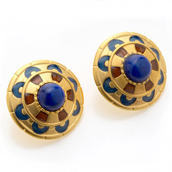 Royal Egyptian Earrings - Museum Shop Collection - Museum Company Photo
