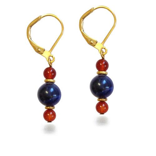 Nubian Drop Earrings - Museum Shop Collection - Museum Company Photo