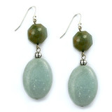 Aqua Amazon Earrings - Museum Shop Collection - Museum Company Photo
